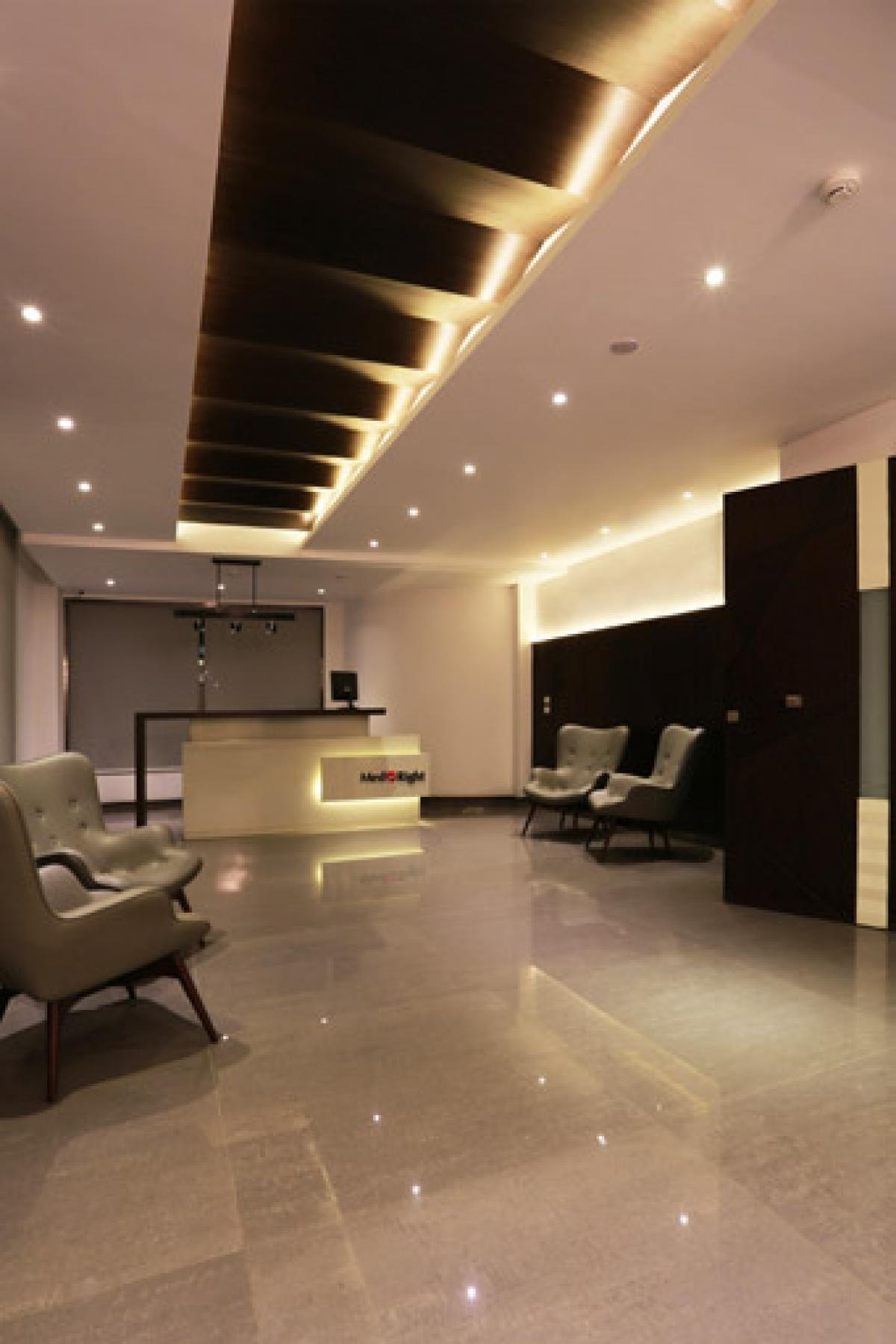 MedRight Reception | Hazem Hassan Designs